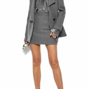 Milly Wool Mini Skirt